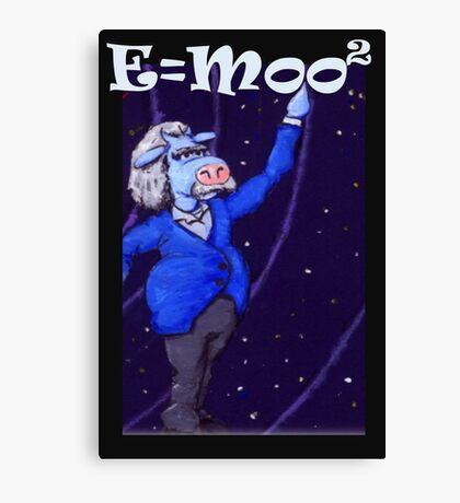 E=moo2 Canvas Print