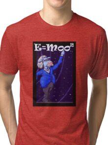 E=moo2 Tri-blend T-Shirt