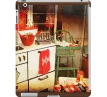 Once Upon a Time There Was a Kitchen....  iPad Case/Skin