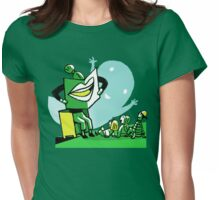 book reading Womens Fitted T-Shirt