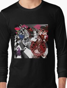 Alice in Wonderland - Off with Her Head Long Sleeve T-Shirt