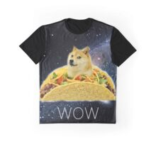 Taco Doge In Space Graphic T-Shirt