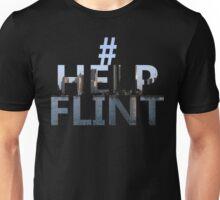 Hashtag Help Flint Unisex T-Shirt