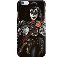 Gene Simmons of Kiss Painting iPhone Case/Skin