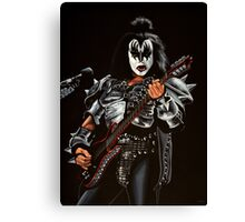 Gene Simmons of Kiss Painting Canvas Print