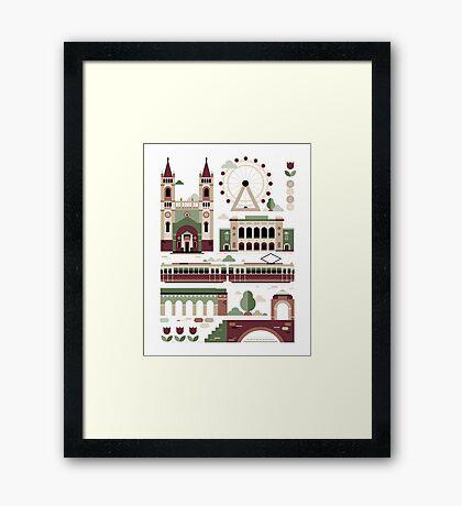 Vienna / Wien Framed Print
