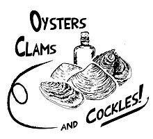 Game of Thrones - Oysters, clams, and cockles by olivergraham