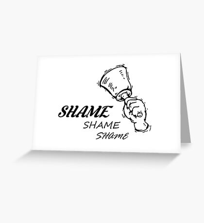 Game of Thrones - Walk of Shame Greeting Card