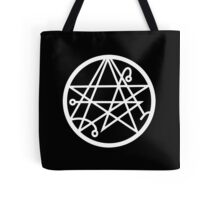 Necronomicon (white) Tote Bag