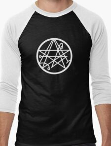 Necronomicon (white) Men's Baseball ¾ T-Shirt