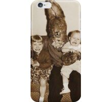 Creepy Easter Bunny 2 iPhone Case/Skin