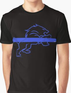 blueline LEO tshirt Graphic T-Shirt