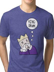 KING DRUNK China,il Tri-blend T-Shirt