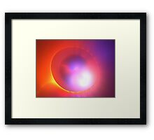 Mars Ellipse Framed Print