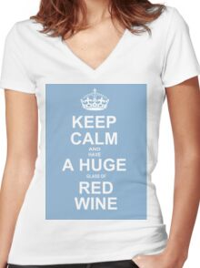 Scandal - Keep Calm Scandal fans ! Women's Fitted V-Neck T-Shirt