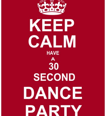 Grey's Anatomy Fans Keep Calm And Dance !  Sticker