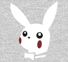 Pikachu playboy white Kids Clothes