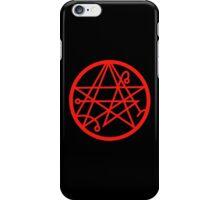 Necronomicon (red) iPhone Case/Skin