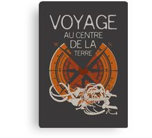 Books Collection: Jules Verne Canvas Print