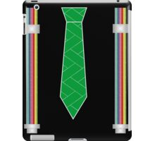 funny father's day novelty suspenders fake necktie  iPad Case/Skin