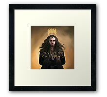 "Thorin Oakenshield Long Live the King ""The Hobbit"" Framed Print"