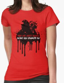 Clexa Meet Again Womens Fitted T-Shirt