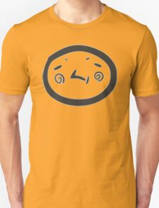 Baffled Stamp Smiley T-Shirt