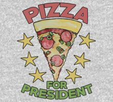 Pizza for President   Kids Clothes
