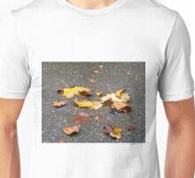 Leaves in Rain Unisex T-Shirt