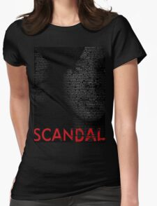 Scandal - Olivia Pope isn't one of the good guys. She's the BEST guy  Womens Fitted T-Shirt