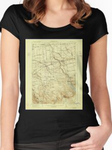 New York NY Chateaugay 140481 1915 62500 Women's Fitted Scoop T-Shirt