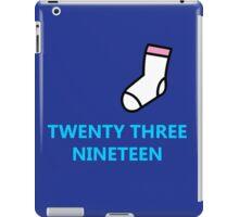 Twenty Three Nineteen iPad Case/Skin