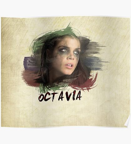 Octavia - The 100 - Brush Poster