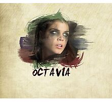 Octavia - The 100 - Brush Photographic Print
