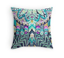 Parrot Tribe Throw Pillow