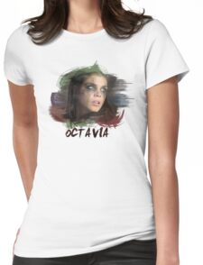 Octavia - The 100 - Brush Womens Fitted T-Shirt