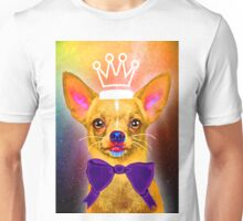 Chihuahua in universe Unisex T-Shirt