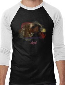 Clexa - The 100 - Brush Kiss Men's Baseball ¾ T-Shirt