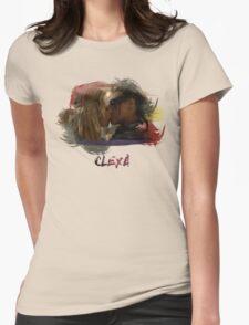 Clexa - The 100 - Brush Kiss Womens Fitted T-Shirt