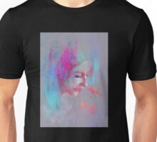 Girl and Little Fish Unisex T-Shirt