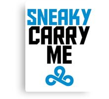 Sneaky Carry me C9 Canvas Print