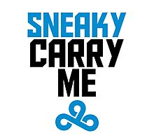 Sneaky Carry me C9 Photographic Print