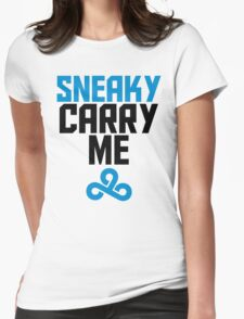 Sneaky Carry me C9 Womens Fitted T-Shirt