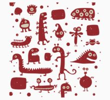 Creepy Cute Monster Kids Clothes