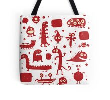Creepy Cute Monster Tote Bag
