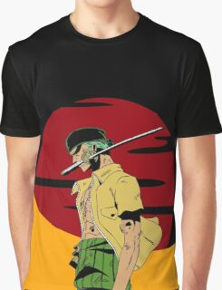 The Swordsman Of The Straw Hat Crew Graphic T-Shirt
