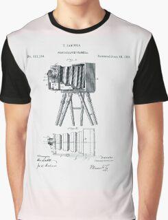 Photographic Camera Patent 1885 Graphic T-Shirt