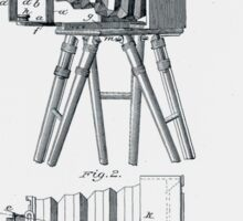 Photographic Camera Patent 1885 Sticker