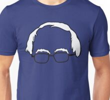 Blue Bernie Head  Unisex T-Shirt