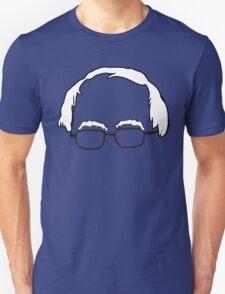 Blue Bernie Head  T-Shirt